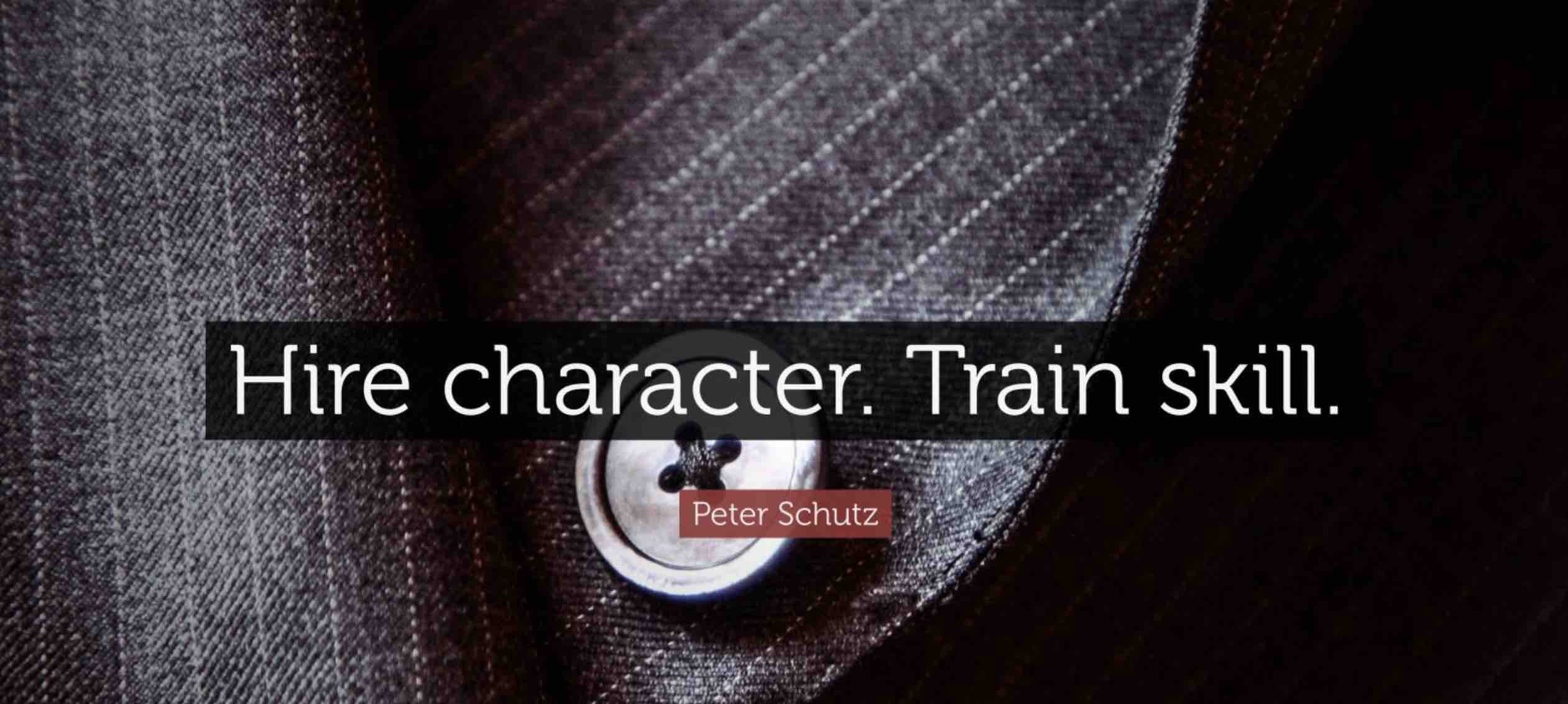 Hire Character, Train Skill - The Altus Education Philosophy