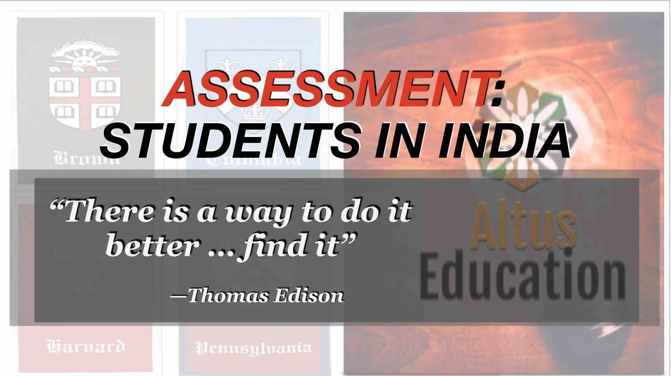 Assessment-India
